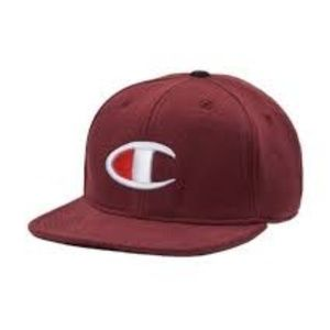 NWT champion reverse weave baseball hat maroon